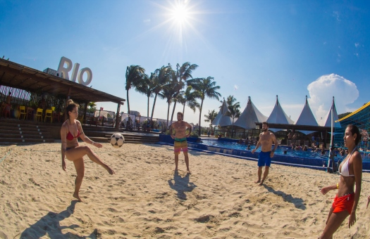 "Beach clubs are the new in The new way of enjoying the ""Carioca"" lifestyle!"