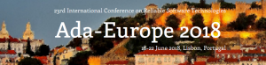 Ada-Europe 2018 - The 23rd International Conference on Reliable Software Technologies