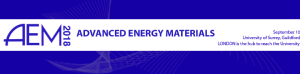 AEM 2018 - Advanced Energy Materials Conference