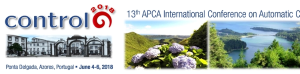 CONTROLO 2018 - 13th APCA International Conference on Control and Soft Computing