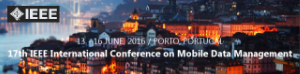 MDM 2016 - 17th IEEE International Conference on Mobile Data Management