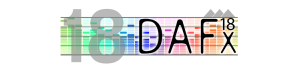 DAFx 2018 - International Conference on Digital Audio Effects