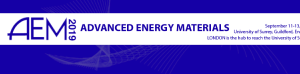AEM 2019 - Advanced Energy Materials Conference
