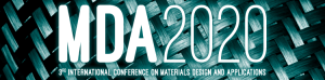 MDA 2020 - 3rd International Conference on Materials Design and Applications 2020